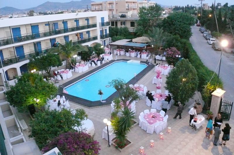 catering αίγινα - Danae Hotel