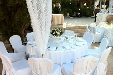 catering στην αίγινα - Danae Hotel